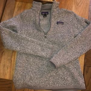Patagonia Better Sweater Quarter Zip Grey